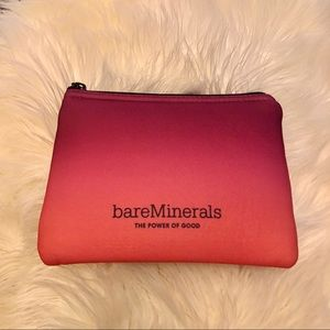 🔴🔴5 for $25! Bare Minerals Ombré Cushion Cosmetic Bag